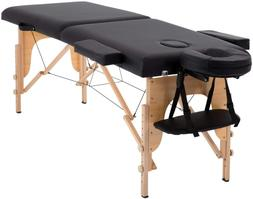 2-Fold 84 Massage Table Bed Spa Portable Foldable Salon Bed