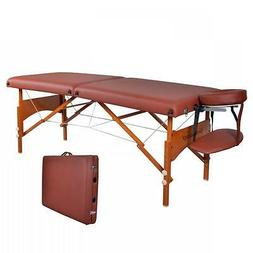 BestMassage 28 Professional Portable Massage Table With Memo