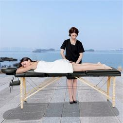 3 fold massage table adjustable facial spa