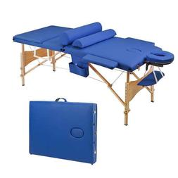 3 Fold Portable Massage Table Free Shipping w/ Headrest +Arm
