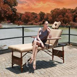 """Master Massage 30"""" 3 Section Heated Del Ray Therma Top Salon"""