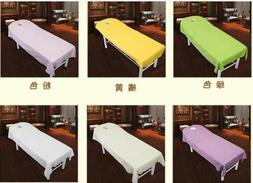 4 Sizes Spa Massage Table Coverlet Comfort Polyester Bed She