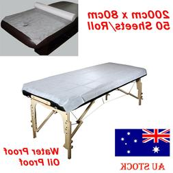 50/100 Disposable Bed Sheet Non-woven Massage Beauty SPA Sal