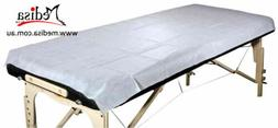 60 Pcs Disposable Bed Cover Massage Table Cover Single Bed S
