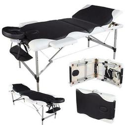 "84""Facial Spa Pad Portable Massage Table Chair w/Adjust Heig"