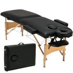 "84""L Fold Massage Table Facial SPA Beauty Bed Tattoo with Fr"