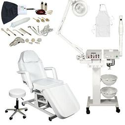 9 in 1 Facial Machine Hydraulic Massage Table Chair Spa Beau