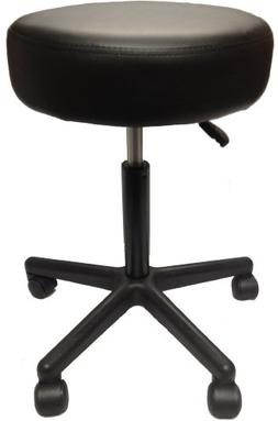 Adjustable Rolling Pneumatic Stool for Massage Tables, Exami