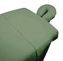 High Quality - 3pc Microfiber Massage Table Sheet Set - Sage