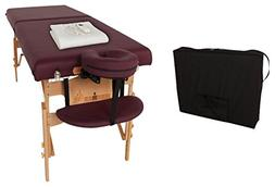 """Ironman Massage Table With Heating Pad, 30"""" W"""
