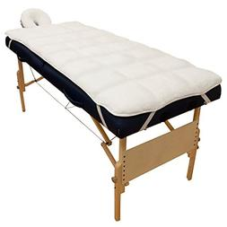 Body Linen Abundance Deluxe Quilted Fleece Massage Table Pad