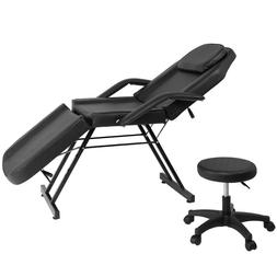 Adjustable Beauty Salon SPA Massage Bed Tattoo Table Chair w