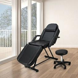 Adjustable Massage Spa Facial Bed with Hydraulic Stool Padde