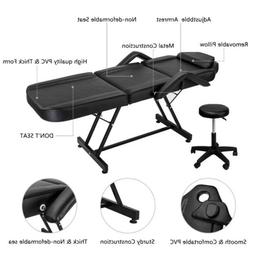 Adjustable Massage Table Bed Chair Salon Spa Tattoo Parlor F