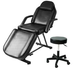 Adjustable Massage Table Bed Salon Tattoo Barber Chair Spa A