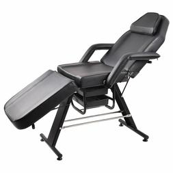 Adjustable Salon SPA Black Massage Bed Tattoo Chair Facial T
