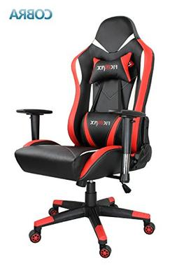 Ficmax Ergonomic Gaming Chair Racing Style Office Chair Recl