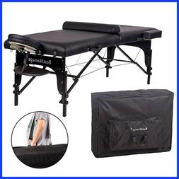 Best Massage Two Fold Portable Massage Table With Bolster BM