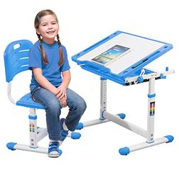 BestMassage Children Desk Kids Study Child School Adjustable