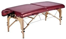 Stronglite Classic Deluxe Massage Table Package, Burgundy