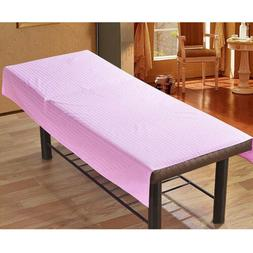 Cosmetic Beauty Massage Table Flat Sheet SPA Treatment Bed C