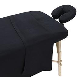 LONDON LINENS 100% COTTON EXTRA THICK FLANNEL MASSAGE TABLE