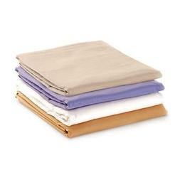 NRG Cotton Poly Massage Table Sheet Sets Color: White - Qty