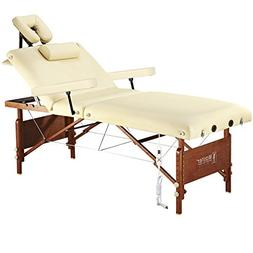Master Massage Del Ray Therma Top Massage Table Salon, Cream