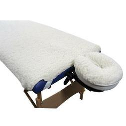 New Deluxe EarthGear Massage Table Sheet Fleece Cover & Face