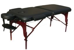 """Deluxe Extra Wide 30""""W Professional Portable Massage Table F"""