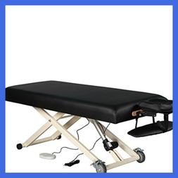 Sierracomfort Electric Lift Massage Table BLACK All Sporting