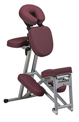 Stronglite Ergo Pro II Massage Chair Package, Burgundy
