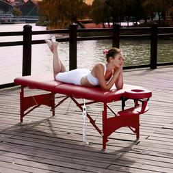 Master Massage 28 Inch Fairlane Therma Top Portable Table Be