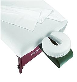 Master Massage 3-Piece Flannel Sheet Set, Off White