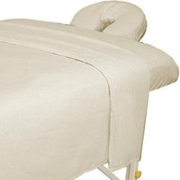 Master Massage 3-Piece Flannel Sheet Set