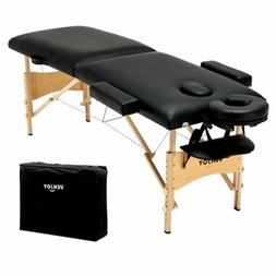 Foldable Professional Massage Table Fasical Bed 84'' Bed w/
