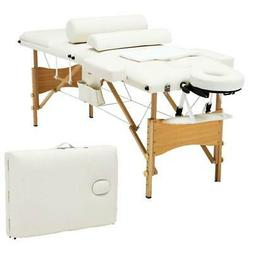 "Folding Massage Table 84"" Professional Massage Bed With Carr"