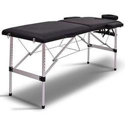 "Giantex 72""L Section Portable Massage Table Aluminum Facial"