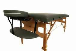Heavy Duty Massage Table Beech Wood Comfortable Multi Layer