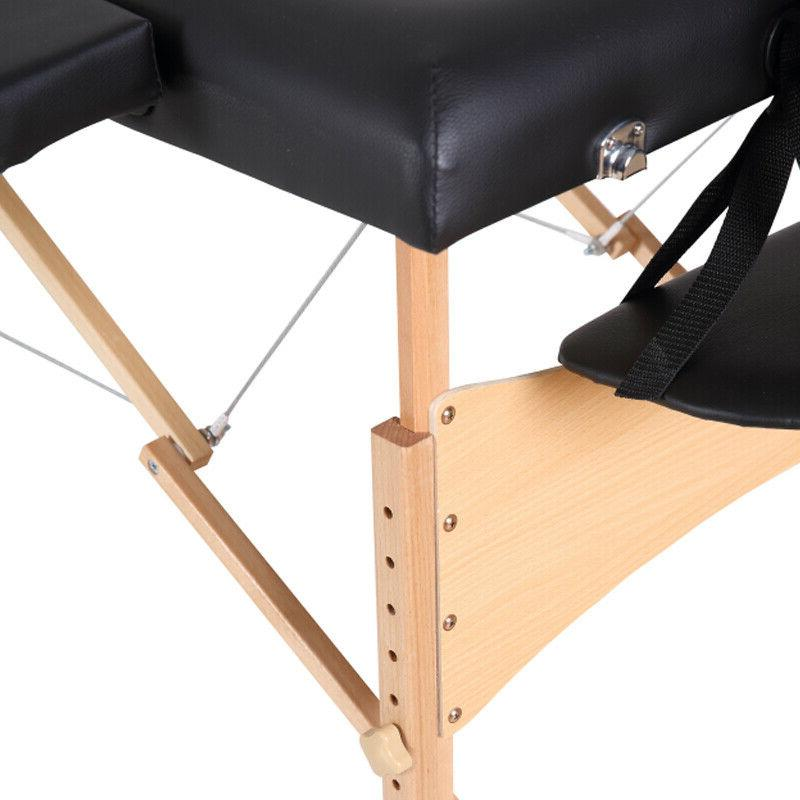 """2-Fold Table Chair w/Free Case 84"""" New"""