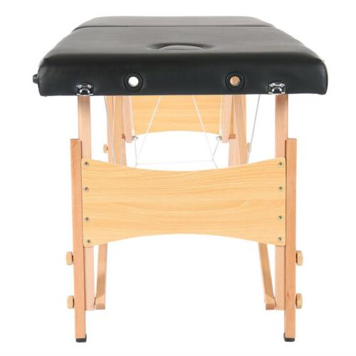 2 Fold Portable Massage Table w/Free Carry Tattoo Bed