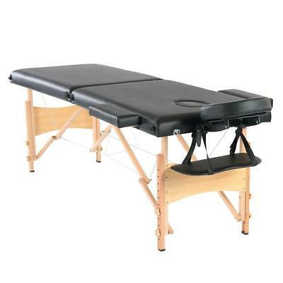 "New 84""L Portable Massage Table Facial SPA Bed Beauty w/Free"
