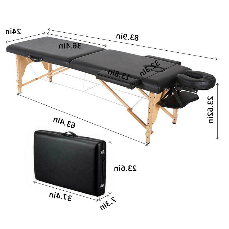 Portable Bed Bed with Carry Case 84''