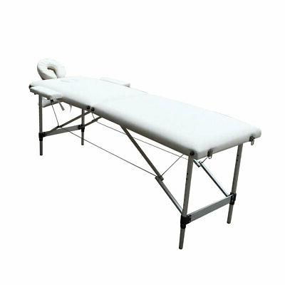 2 sections simple white folding portable spa