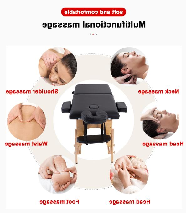 200BestMassage Black Table Carry Bed Facial T