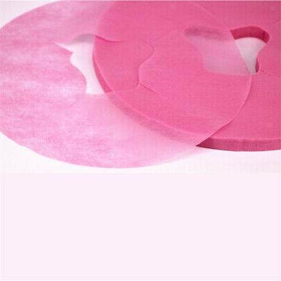 200pcs Disposable Headrest Cushion for Massage Table Pink