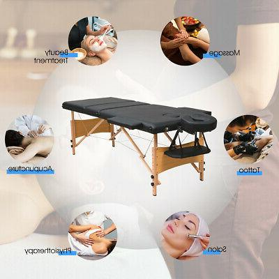 "3 84""L Massage Table W/2"