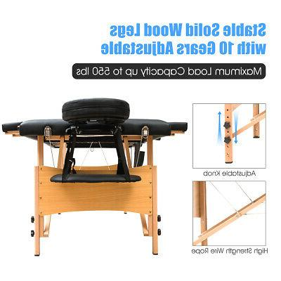 Massage Table W/2 Bolster+Sheet+Cradle