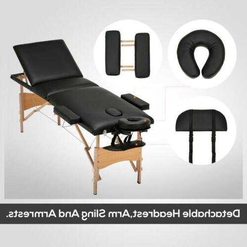 "84""L Fold Massage Table Bed with Free"