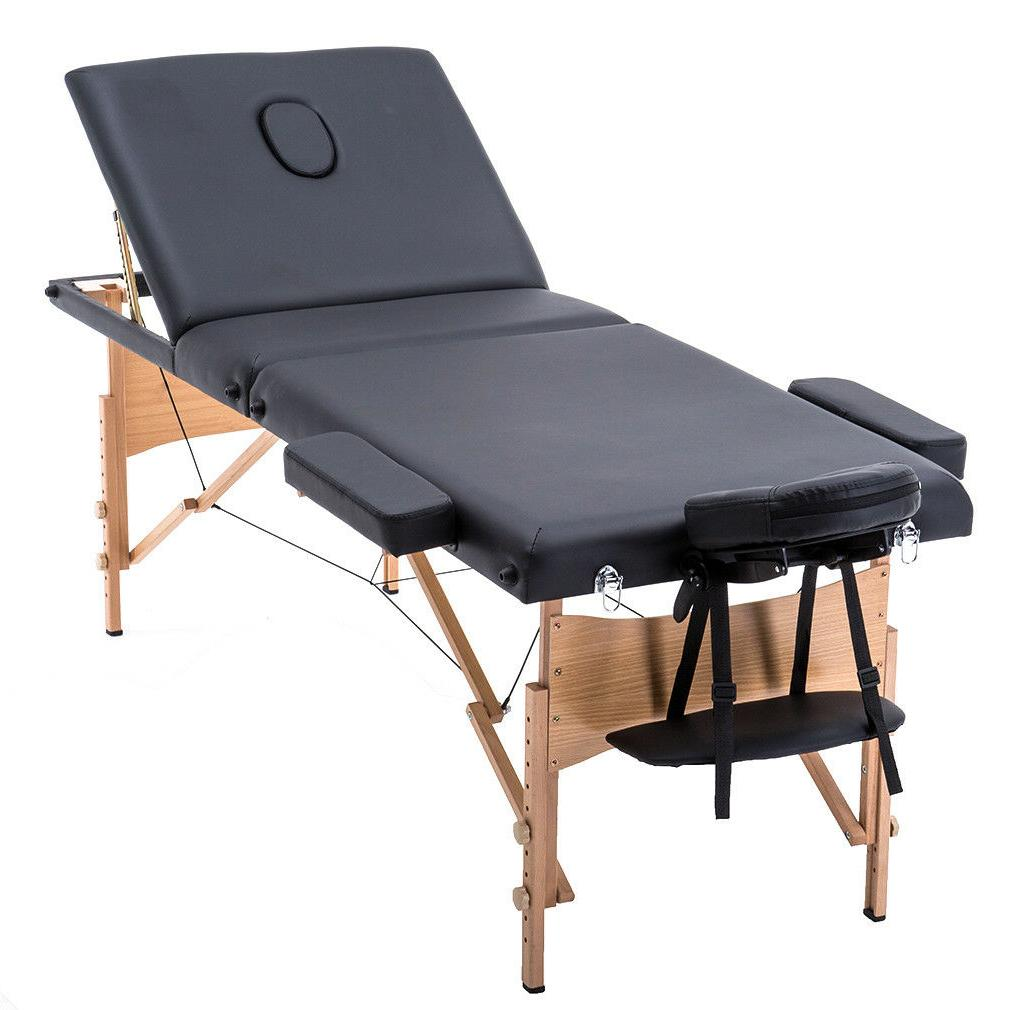 BestMassage Fold Massage Table w/Free Case Facial Spa